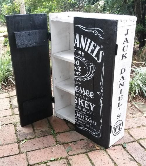Other Bar – Jack Daniel's Cupboard with Shelve…