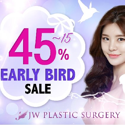 #discount #earlybirdsale #jwplasticsurgery #surgerysale #surgerydiscount #priceoff #summersale #plasticsurgery #cosmeticsurgery #koreanplasticsurgery #koreansurgery #bestclinic #nosejob #eyejob #eyesurgery #nosesurgery #breastsurgery #fatinjection #beforeandafter #promotion