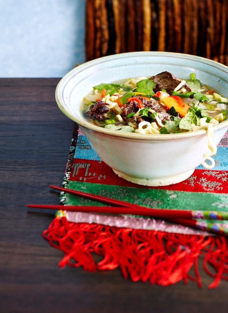 Vietnamilainen pho-keitto   K-Ruoka #aasia