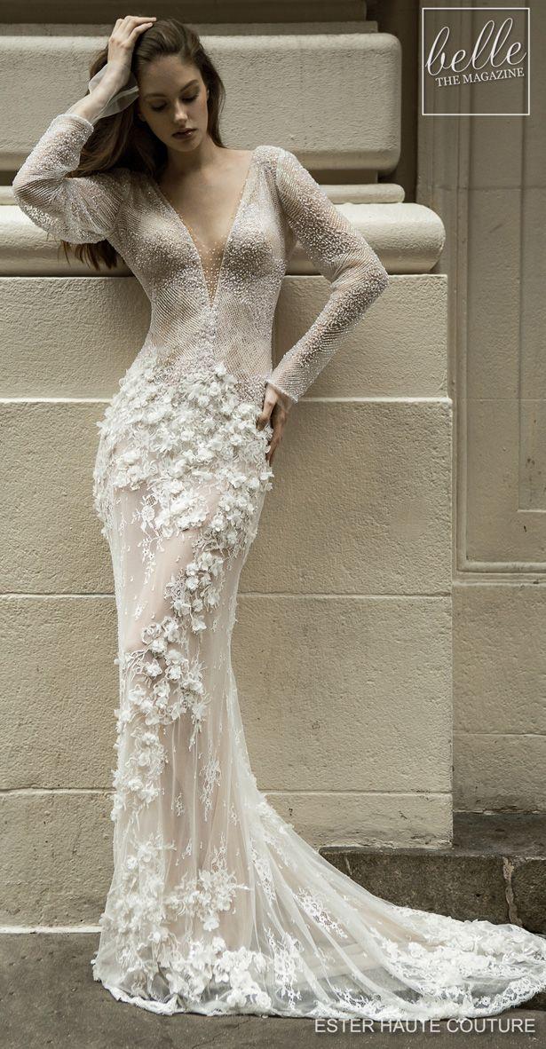 Ester Haute Couture Wedding Dresses 2019 Belle The Magazine Wedding Dress Couture Couture Wedding Wedding Dresses