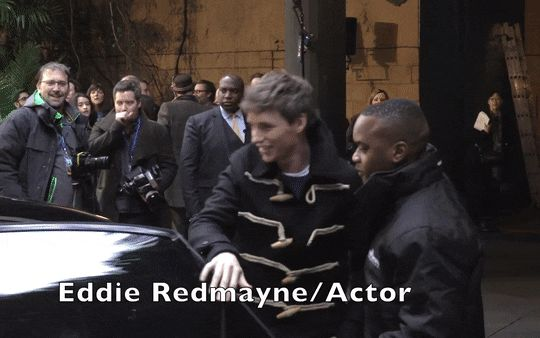 Addicted to Eddie — Eddie Redmayne and his wife Hannah at the Early...