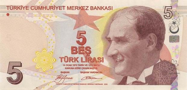 Economy: This is a picture of Turkish Lira. One Turkish lira is equal to 0.34 USD.  16% of the people in Turkey are below the poverty line.  On the Turkish lira there is a man pictured name Aydin Sayili. He was born in 1913 and he was a very important historian of science. He was awarded for his work in 1977 by the Polish government for his astronomy work.