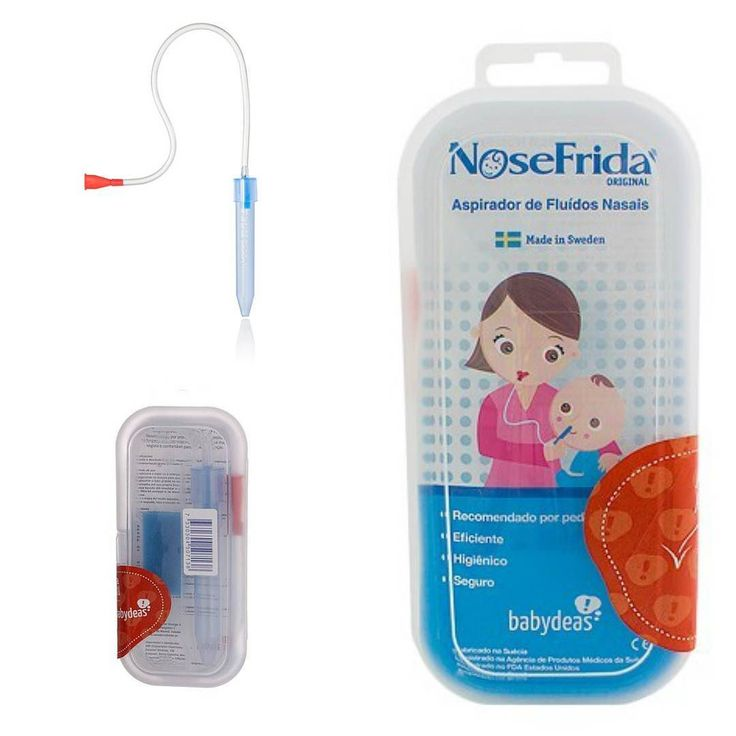 Hoje tem o melhor aspirador nasal em promoção!! O NoseFrida possui um design apropriado para facilitar o manuseio age como um aspirador nasal eliminando rapidamente e facilmente o excesso de secreção nas mucosas trazendo alívio imediato a congestão dos bebês. Basta aproximar a ponta azul do Nosefrida Aspirador Nasal à mucosa nasal do bebê/criança e fazer a sucção pela outra ponta para a retirada da secreção. Vem com filtro e trava o muco na hora da sucção impossibilitando que o adulto venha…