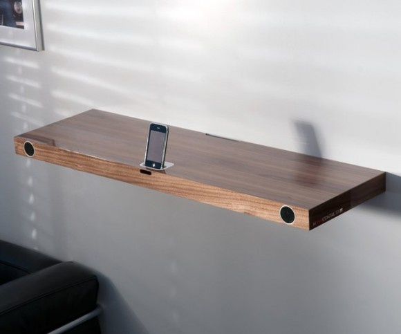 Horizontal 51 iPhone Dock Shelf
