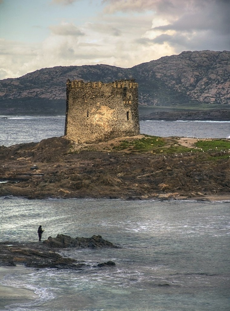 Stintino, the fisherman and the Tower