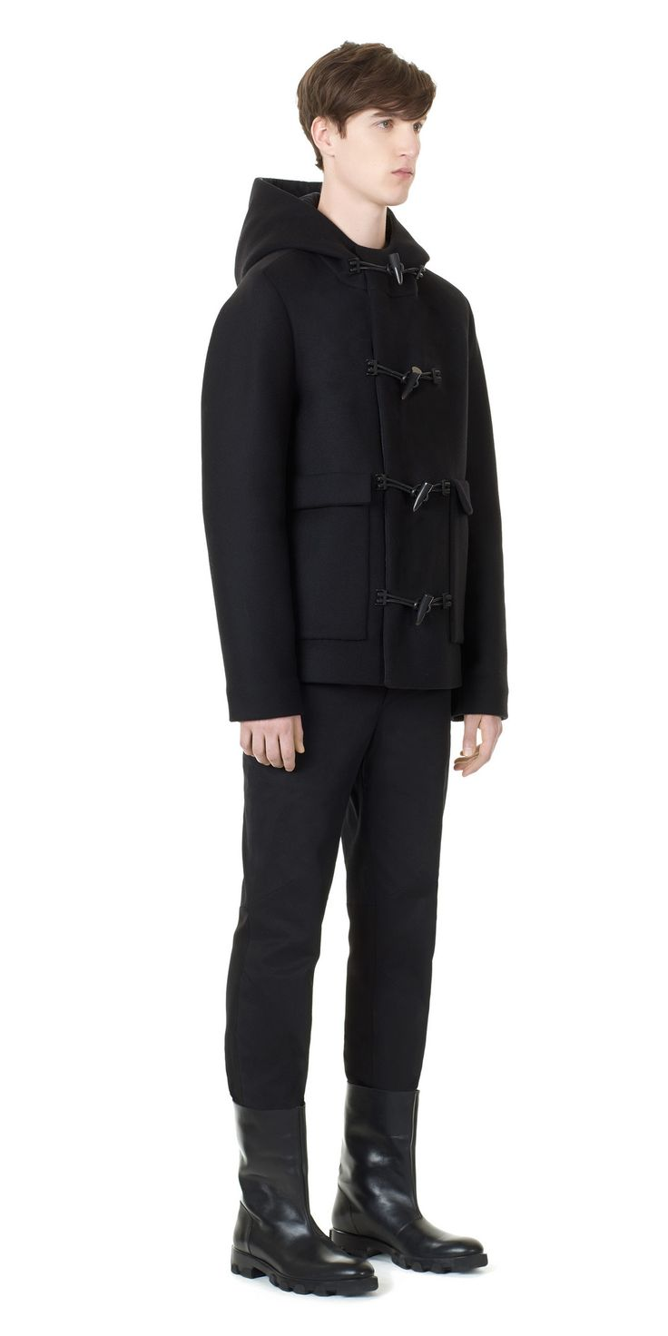 Balenciaga Coats Men Black - Discover the latest collection and buy online Men on the Official Online Store.