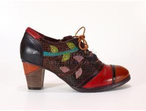 Elegantné módne kožené farené pohodlné kotníky Laura Vita