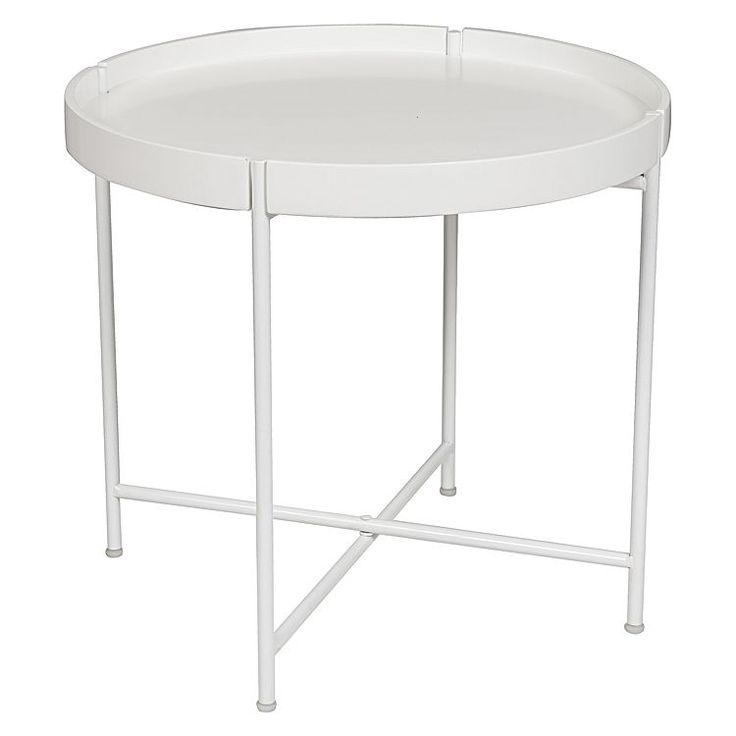 Molly Side Table, White