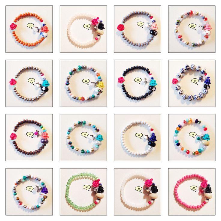 Hand made armbandjes met een Buddha & een B(engel) #buddhabracelet #bracelet #handmade