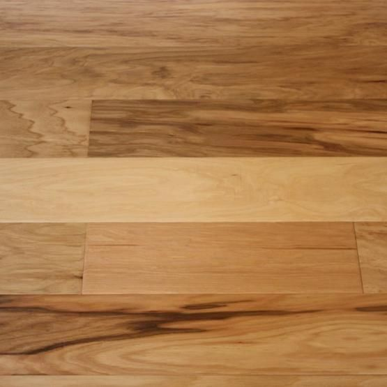Hickory natural 3 8 x 5 hand scraped engineered for Hand scraped wood floors