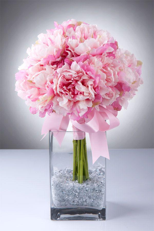 Peonies bouquet pink peonies wedding bouquet bridal bouquet of