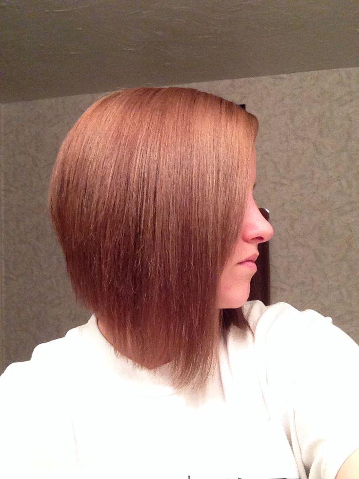 Elegant 25 Best Ideas About Diagonal Forward Haircut On Pinterest