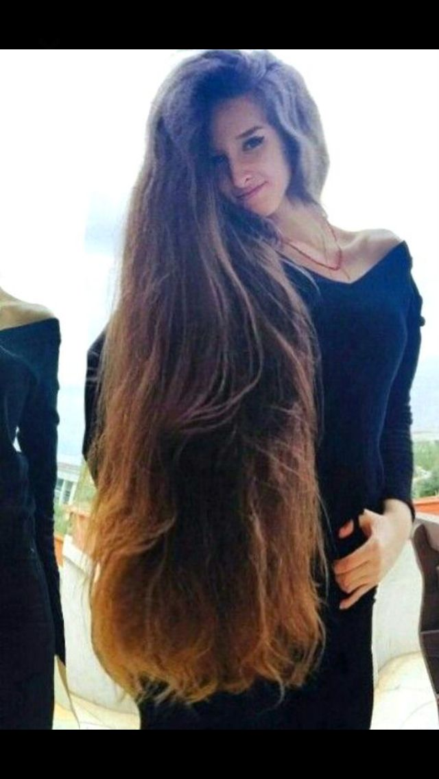 Hairstyles For Long Thick Hair Enchanting 1139 Best Super Long Thick Hair Images On Pinterest  Hair Dos Hair
