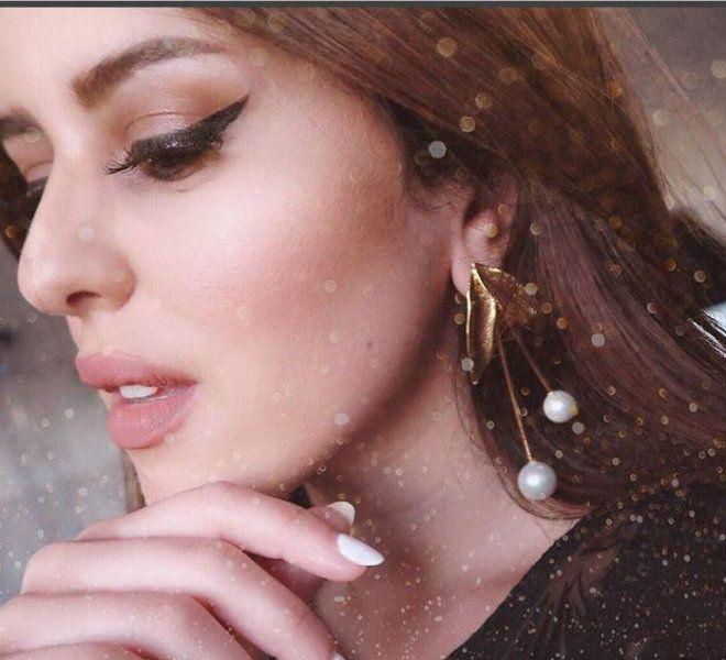 أجمل الاطلالات الجمالية لـ نور خالد الشيخ خطيبة خالد الشاعر مجلة هي Pearl Earrings Earrings Hoop Earrings