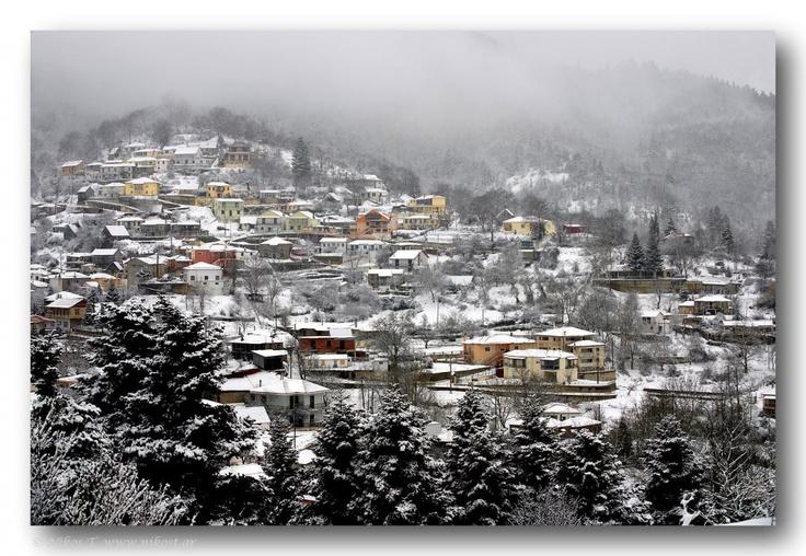 Karpenisi village