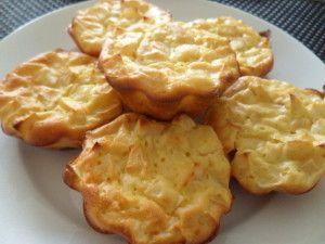 Muffins légers aux pommes 1PP