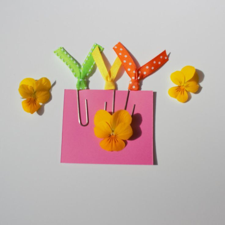 A personal favorite from my Etsy shop https://www.etsy.com/ca/listing/293580157/ribbon-paper-clips-tropical-paradise