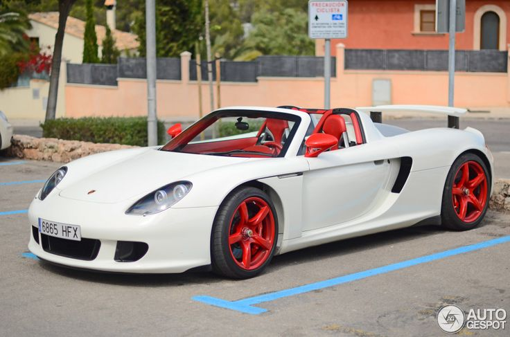 Porsche Carrera GT blanco - Cochesdelujo | Las Mejores Marcas Y Los Mejores Coches De Lujo
