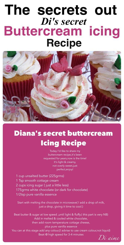 SECRET buttercream recipe revealed!