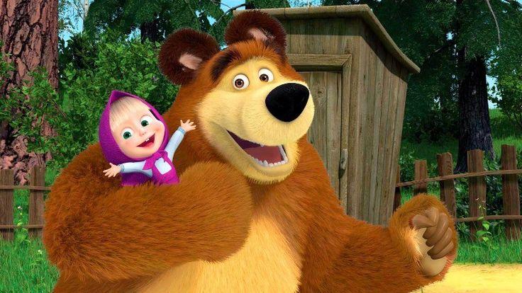Masha y el Oso tendrá un spin off en 2016: Masha Scary Tales - Kúbico