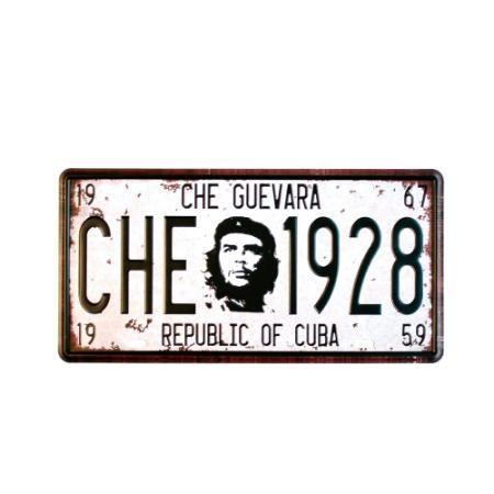 Chapa Decorativa Retro Che Blanco  $ 119.0