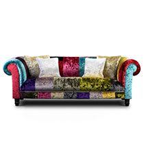 Kariba II Designer Fabrics - crushed velvet fabrics available in an array of contemporary and traditional colours.