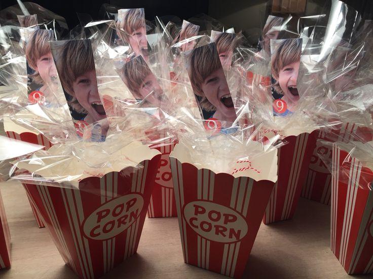 Traktatie met popcorn!