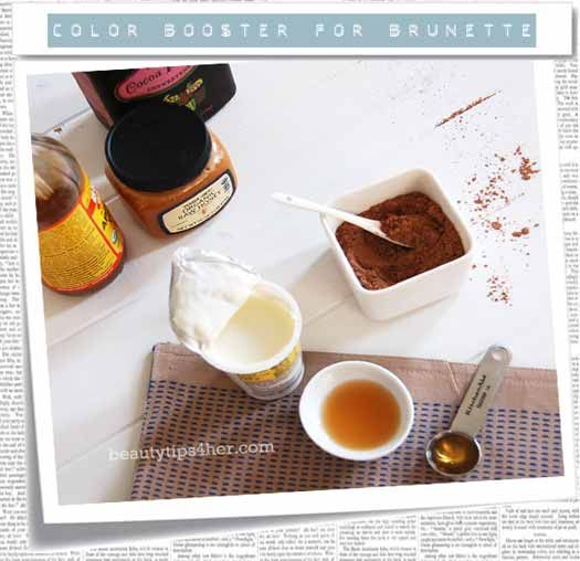 DIY Brunette Color Booster – Homemade Color Boosters for Brunettes | Beauty and MakeUp Tips