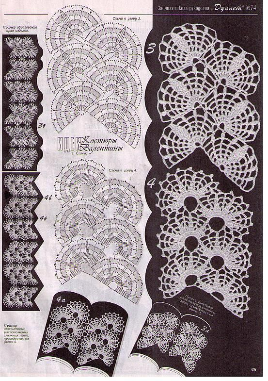 Motives of Irish lace - photos and diagrams Picture 060