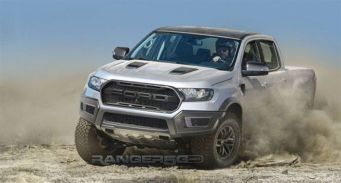 2019 Ford Ranger Raptor Coming In Biger Hp Engine Ford Ranger
