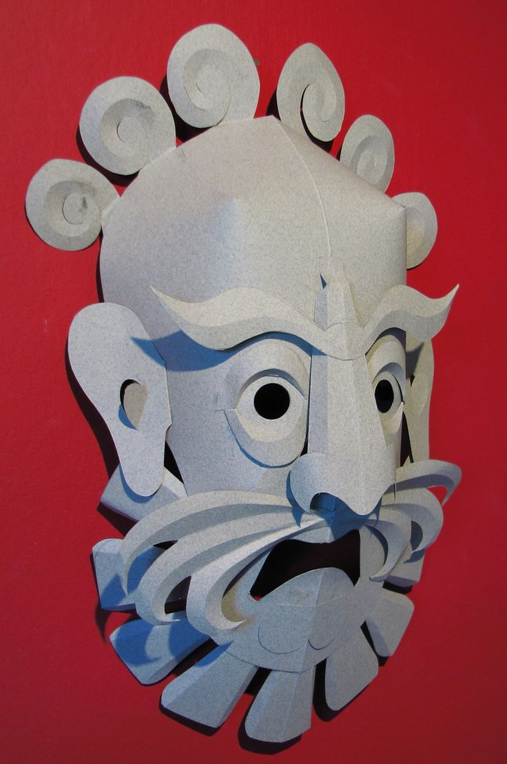 Paper Mask 1 - there are othersw too.  These paper masks were designed by The World Through Wooden Eyes.