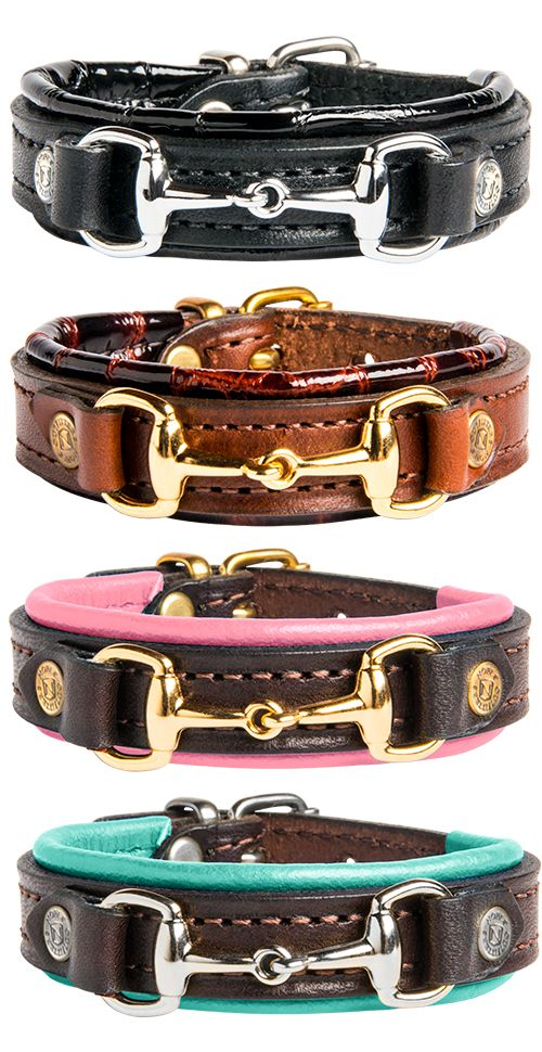 Noble Outfitters On The Bit Bracelet - An adjustable bracelet highlighting a beautifully crafted snaffle bit on the front. The padding detail comes in four different combinations to wear for any occasion.