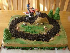 My Cake Hobby: Dirt Bike Cake