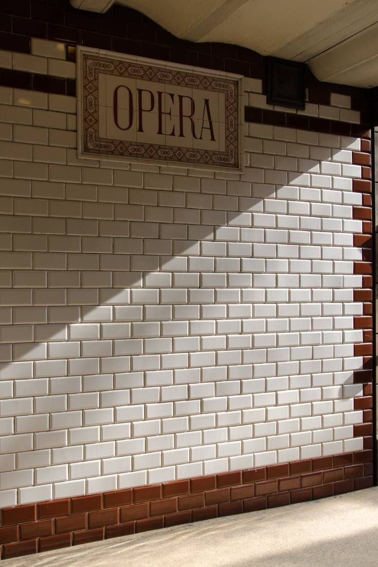 This historical underground line is a truly exceptional place for film and photo shoots with its wooden benches, stylish tiles and wrought iron exits
