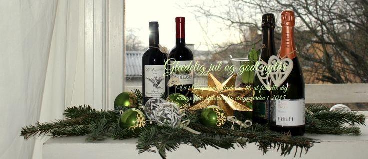 Glædelig jul og godt nytår Vi i Grapeland glæder os til, at fortælle dig mange flere historier fra vinens verden i 2015