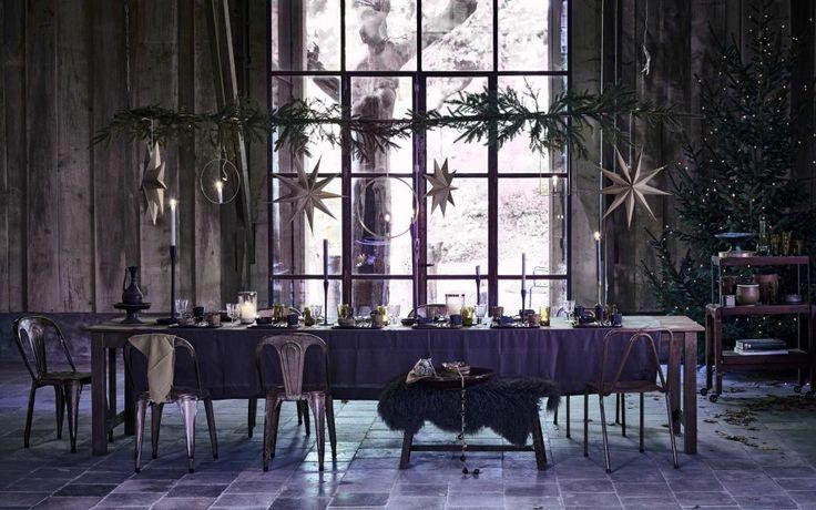 Gedekte feesttafel | Set party table | vtwonen 12-2017 | Fotografie Jeroen van der Spek | Styling Cleo Scheulderman