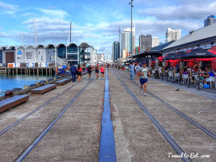 North Wharf. Auckland, New Zealand