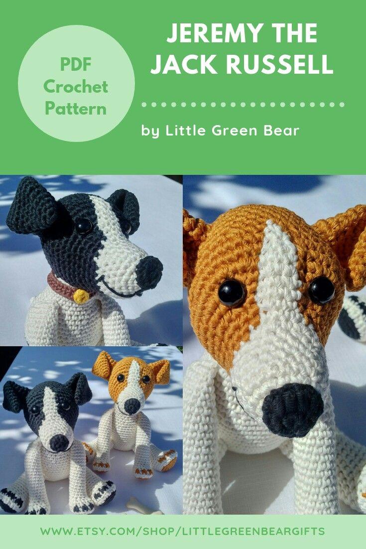 free jack russell terrier crochet pattern