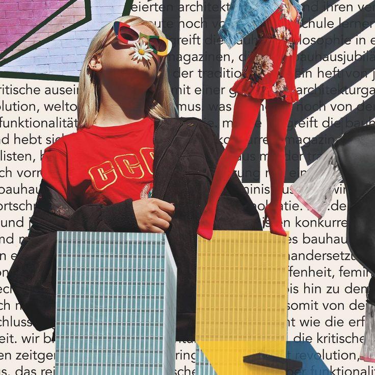 mode moodboard 🌈   nous ne parlons pas seulement de vêtements et de tendances avec la mode, mais …