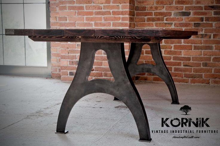 vintage industrial table from kornik.co