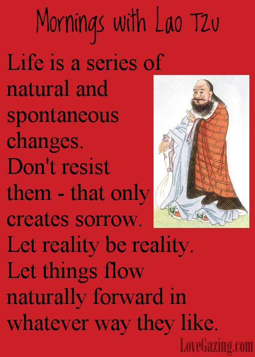 Mornings with Lao Tzu    Get a good translation of the Tao Te Ching for free at:  ====> http://lovegazing.com/go/tao-te-ching/