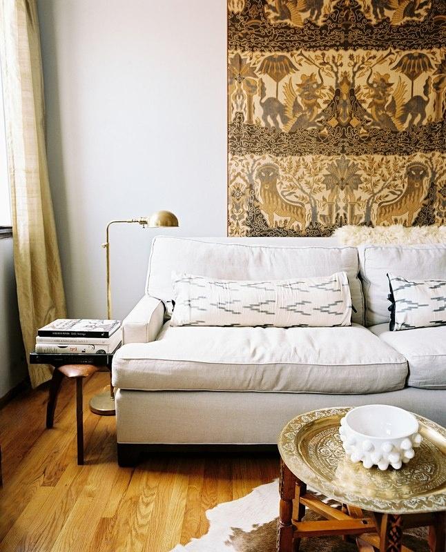 Living Room Photos. Moroccan TableLumbar PillowFloor LampsBrass ...