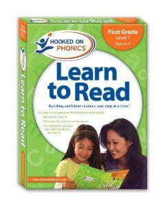 Learn to Read First Grade Level 1 (Hooked on Phonics: Level 1) by Hooked On Phonics.. Save 34 Off!. $26.39. 60 pages. Series - Hooked on Phonics: Level 1. Publisher: Hooked On Phonics; 2009 edition (May 1, 2009)