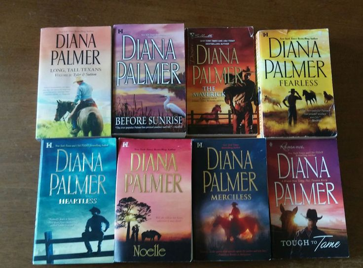 Diana Palmer Books 8 Lot Romance MERCILESS Fearless HEARTLESS Noelle TOUGH TO +