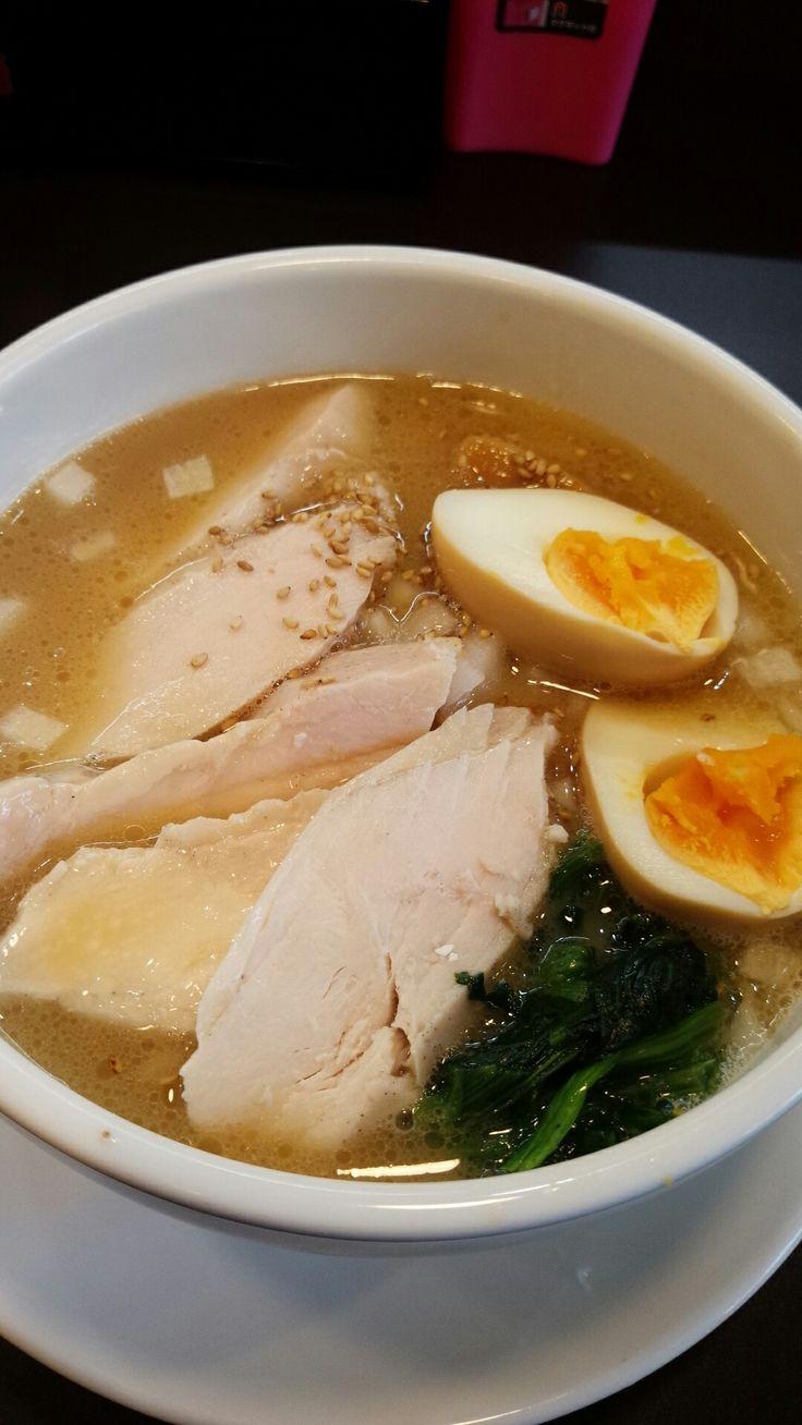 鶏白湯ラーメン 夏樹