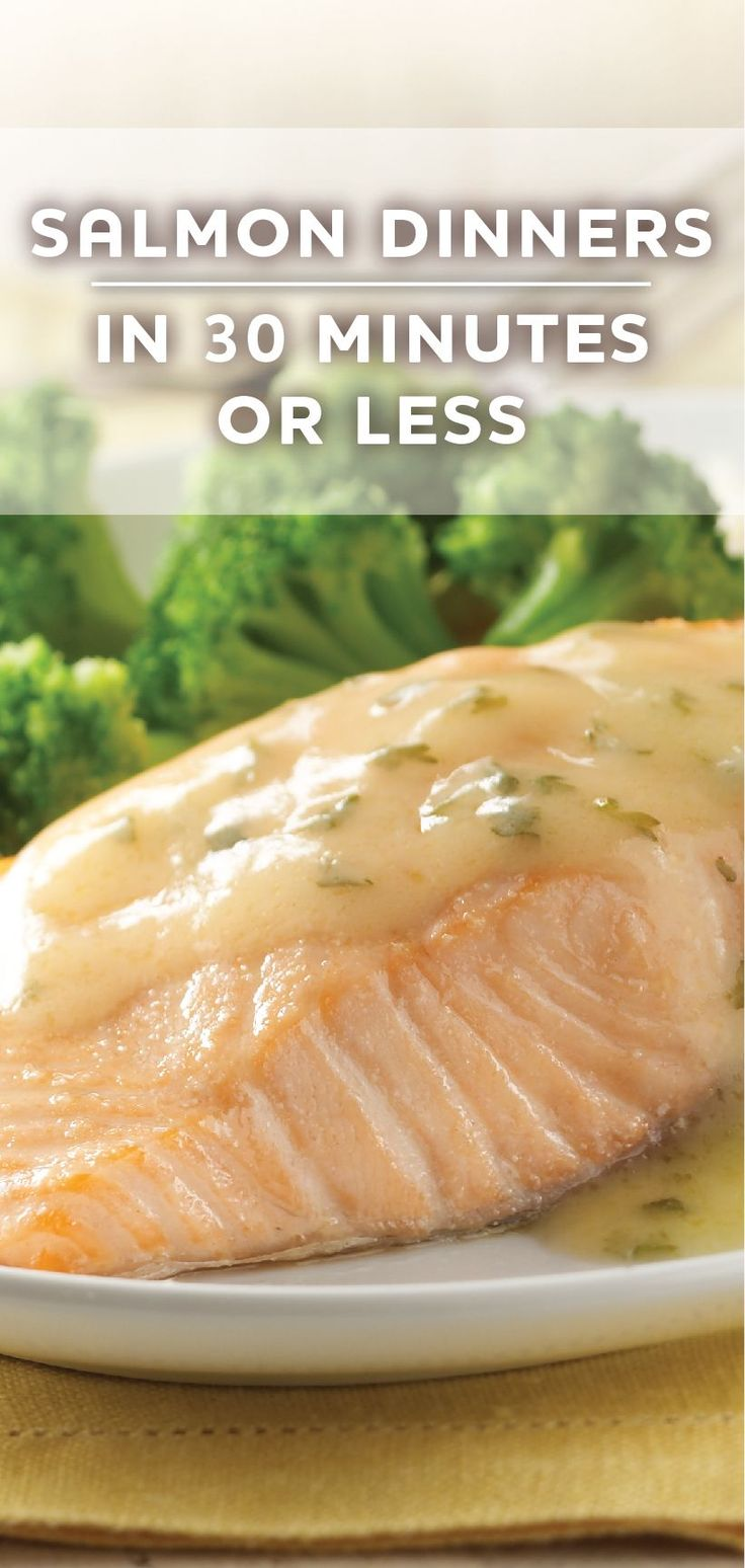 10 quick salmon dinner recipes that are ready in 30 for Easy fish recipes for dinner
