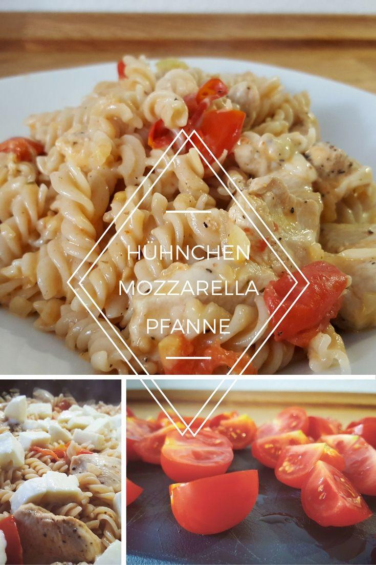 Die heutige Hühnchen Mozzarella Pfanne könnte man fast schon als Resteverwertung bezeichnen, denn die meisten Zutaten dürfte jeder von uns daheim haben.