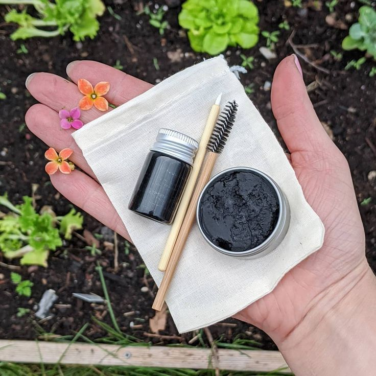 Zero waste mascara vegan and organic in 2020 Handmade
