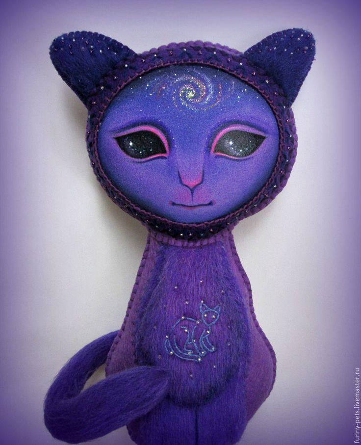 Купить Игрушка Кошка. Живая Вселенная (резерв). - кошка, подарок на день рождения