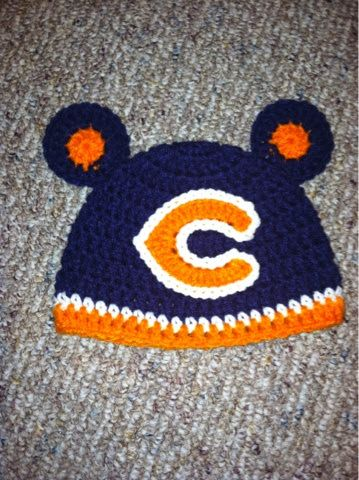 Christa's Crocheted Creations: Chicago Bears!